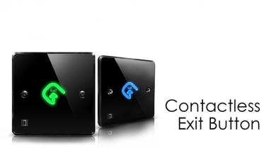 Contactless exit Button